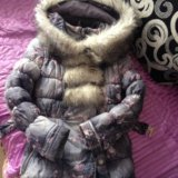 Курточка- пальто 140. Фото 1. Красноярск.