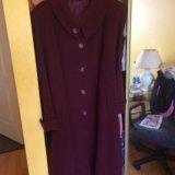 Новое драповое пальто 56 размер. Фото 1.