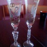 Свадебные бокалы. Фото 2.