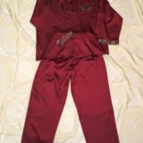 Пижама мужская 54 р. шёлк. Фото 1.