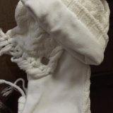 Шапочка с шарфом adidas(оригинал). Фото 2.