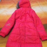 Пальто зимнее для девочки. Фото 2.