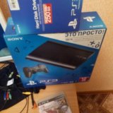 Ps3 superslim 250гб+20игр. Фото 1.