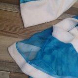 Новогодний костюм снегурочки. Фото 1.
