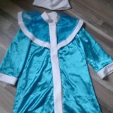 Новогодний костюм снегурочки. Фото 2.