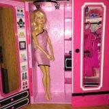 Кукла барби со шкафом. Фото 1. Москва.