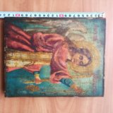 Икона 19 век ангел молитвы редкий сюжет. Фото 2. Москва.