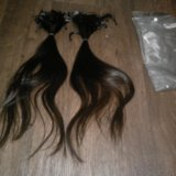 Волосы на капсулах,хорошего качества,30 и 45 см. Фото 1. Шадринск.