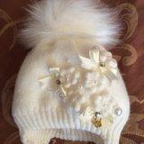 Тёплая зимняя шапка для крохи. Фото 1. Ростов-на-Дону.