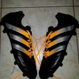 Бутсы adidas (43 1/3) индонезия. Фото 1.