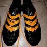 Бутсы adidas (43 1/3) индонезия. Фото 2.