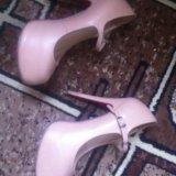 Бежевые туфельки  срочно !!!. Фото 3.