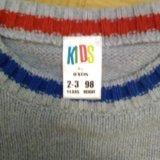 Детские босоножки и модный джемпер на мальчика. Фото 1.