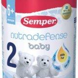 Semper nutradefense baby 2 (семпер нутрадифенс 2). Фото 1. Москва.