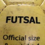 Мяч футбольный демих для зала размер 4. Фото 1.