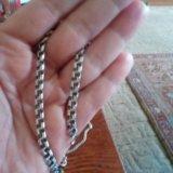 Браслет из серебра 925,бисмарк. Фото 3.