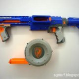Бластер nerf n-strike raider cs-35. Фото 3.