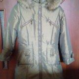 Пальто kiko зимнее на девочку (новое). Фото 1.