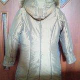 Пальто kiko зимнее на девочку (новое). Фото 2.