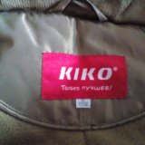 Пальто kiko зимнее на девочку (новое). Фото 3. Пермь.