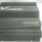 Alpine mrp-m200 усилитель для саба. Фото 4.