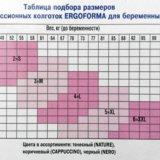 Колготки ergoforma для беременных, антиварикозные. Фото 2. Москва.