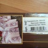 Постельное белье, сатин евро. Фото 2. Краснодар.