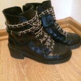 Zara ботинки. Фото 1.