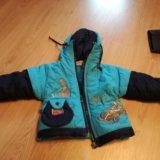 Детские вещи (осенняя куртка, зимние штаны,рубашки. Фото 1.