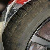 Зимние шины с дисками на рендж ровер спорт. Фото 3.