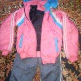 Костюм лыжный зимний(куртка+штаны). Фото 1.