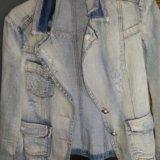 Пиджак джинсовый. Фото 3.