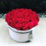 Розы в коробках. Фото 1.