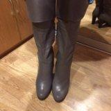 Новые кожаные сапоги. Фото 3. Благовещенск.