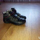 Осенние ботиночки на мальчика. Фото 1.