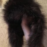 Шапка ушанка женская чернобурка. Фото 1.