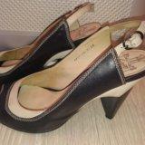 Продам туфли натуральная кожа lisette. Фото 1.
