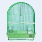 Клетка для птиц овальная, укомплектованная. Фото 1. Тольятти.
