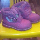 Детскя обувь в хорошем состоянии размеры26-28. Фото 2. Ермолино.