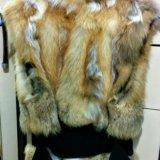 Жилет из меха лисы. Фото 2.