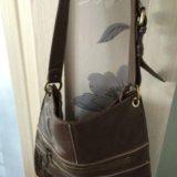 Итальянская кожаная сумка. Фото 1.