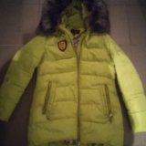 Куртка пуховик женский. Фото 1.