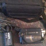 Видеокамера soni. Фото 1.