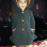 Детское драповое пальто модное. Фото 2. Иваново.