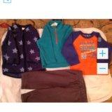 3 флисовые кофты и штаны, свитер на раз.74-80. Фото 1. Москва.