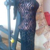 Платье ручная вязка. Фото 3. Курган.