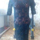 Платье ручная вязка. Фото 4. Курган.