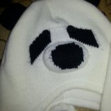 Шапка-панда. Фото 1. Люберцы.