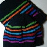 Шапка+шарф. Фото 1.