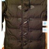 Куртка пальто пуховик, раз м. 46 рост 170 - 176. Фото 3.